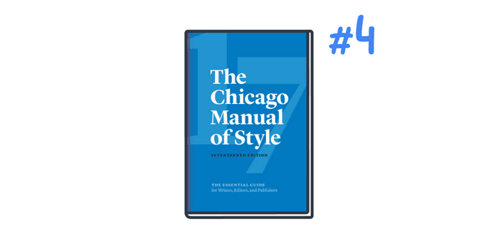 Chicago is the number four citation style used for business