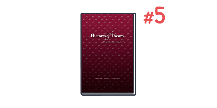 History and Theory is the number one citation style used in history