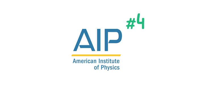 AIP is the number four citation style used in science