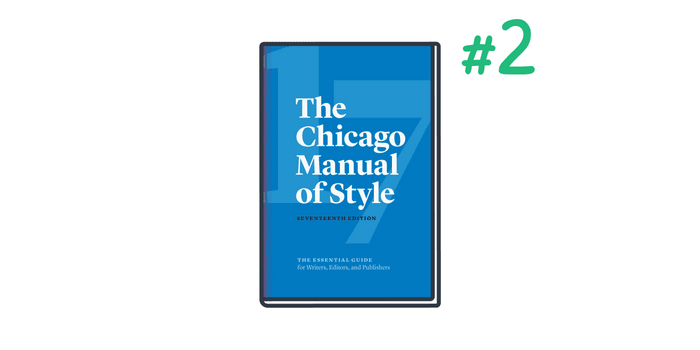 Chicago is the number two citation style used in science