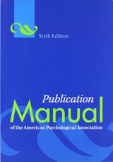 apa cover page