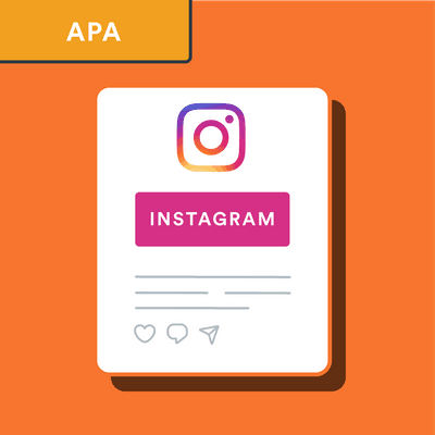 APA Instagram post citation