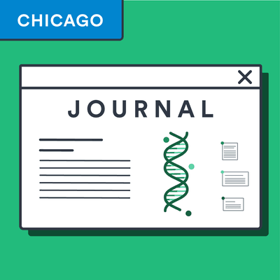 Chicago style online journal article citation