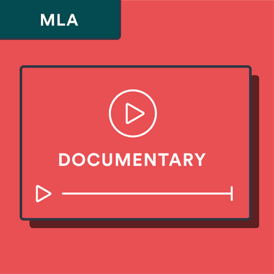 MLA documentary citation