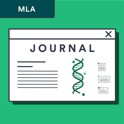 MLA online journal article citation