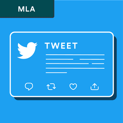 MLA tweet citation