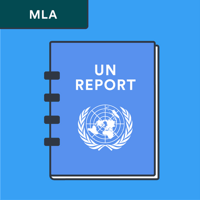 MLA UN report citation